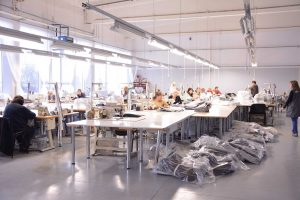 """UAB """"Aretida"""" gamybinės patalpos (Siuvimas)"""