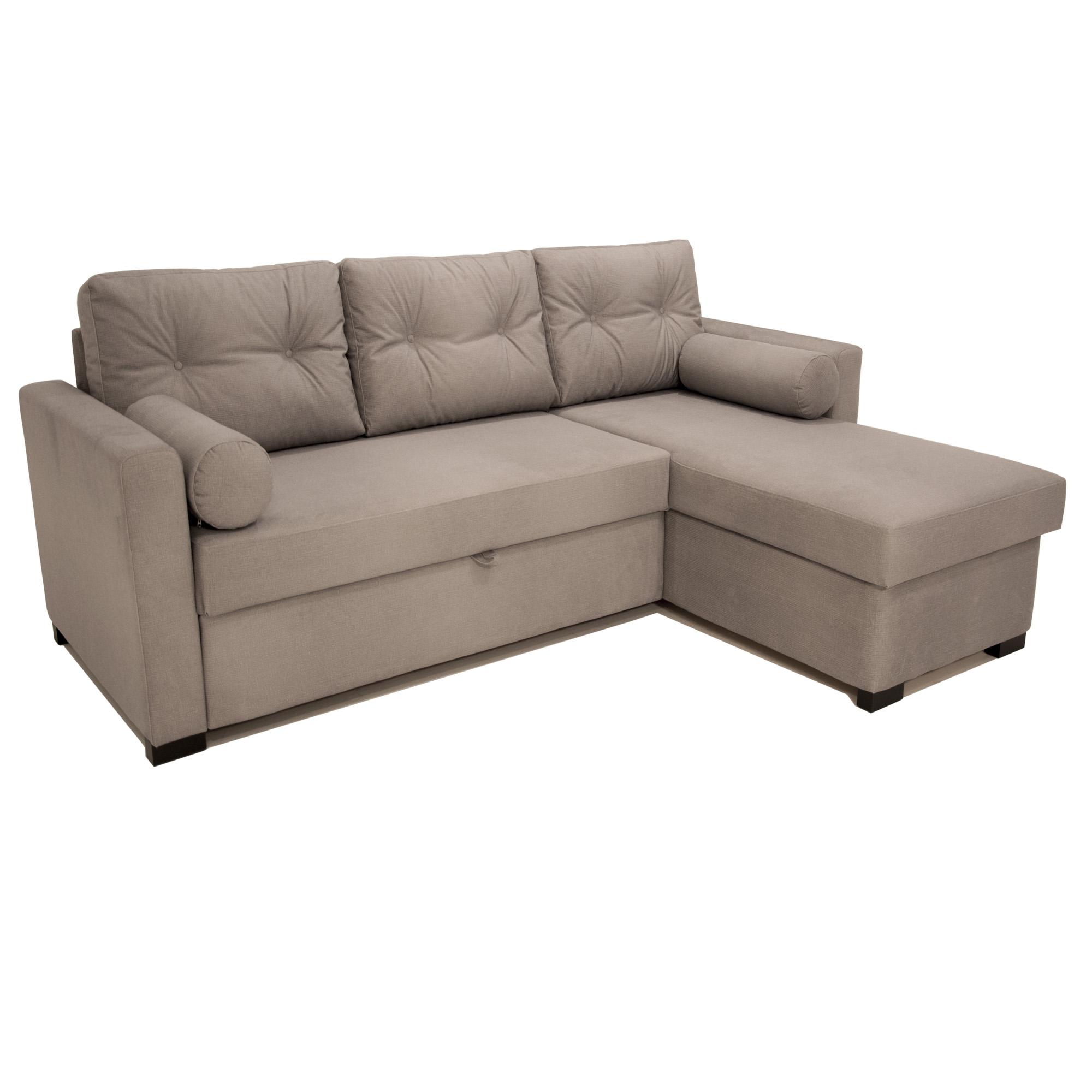 Kampinė sofa Asveja Pilka